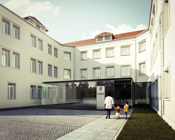 Karowa Hospital, Warsaw- 2nd prize in the competition