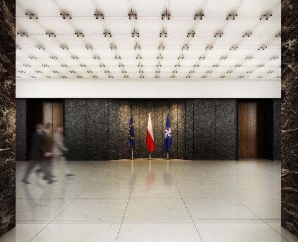 Ministerstwo Spraw Zagranicznych, Warszawa - I nagroda w konkursie SARP