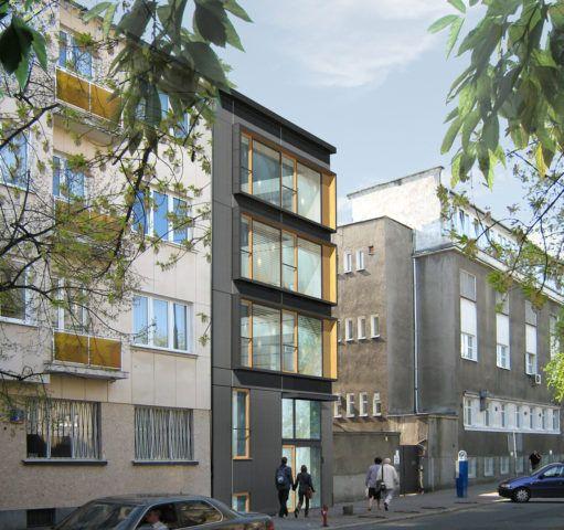 Budynek Biurowy na ul. Chocimskiej, Warszawa