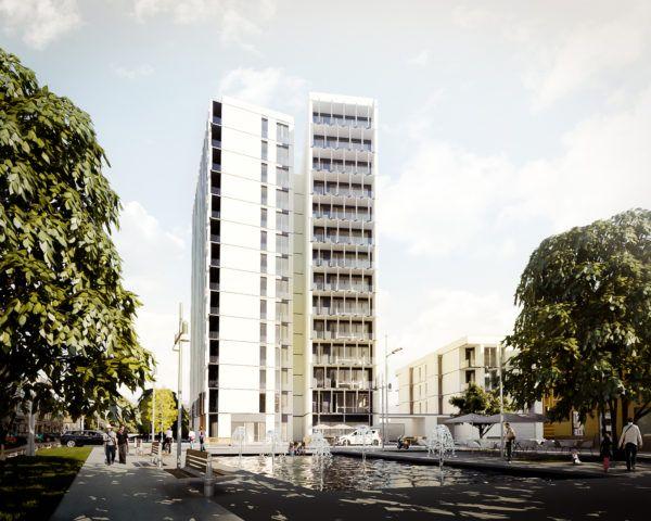 Apartment building, Bialystok