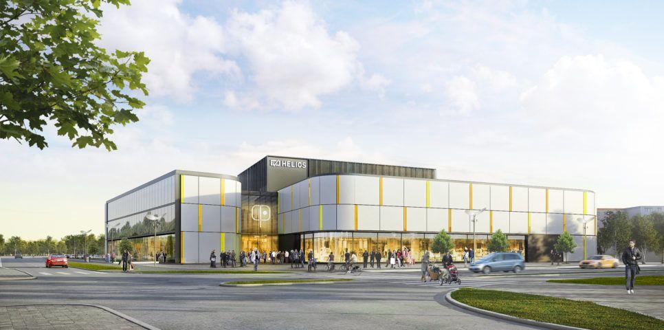 Shopping center in Bydgoszcz
