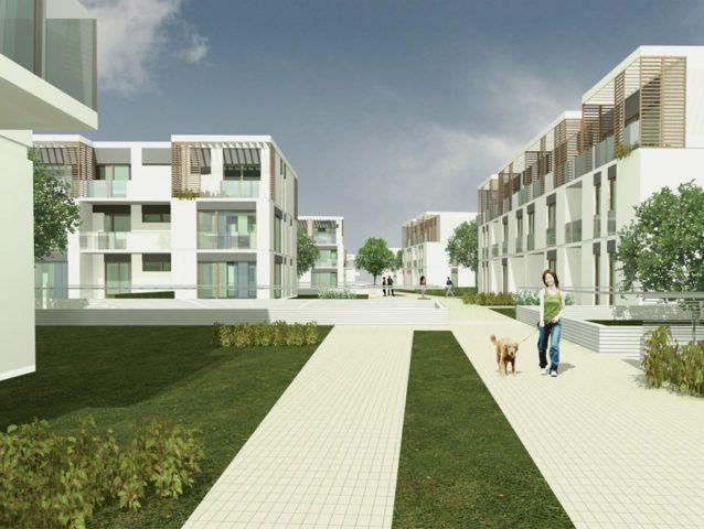 Zespół budynków mieszkalnych z usługami, Zamienie