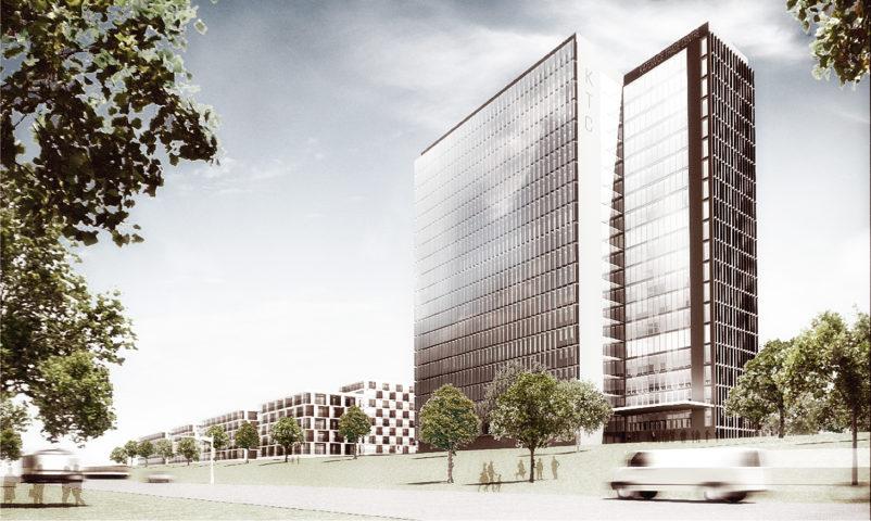 Zespół Budynków Biurowych i Mieszkaniowych z Usługami, Katowice