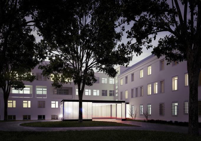 Szpital na ul. Karowej, Warszawa - II nagroda w konkursie SARP