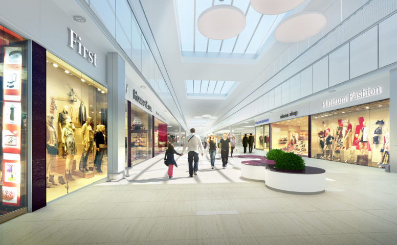 Centrum Handlowe Galeria Echo, modernizacja, Kielce