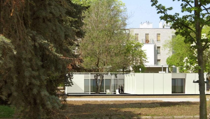 Pawilony Biurowe, Warszawa