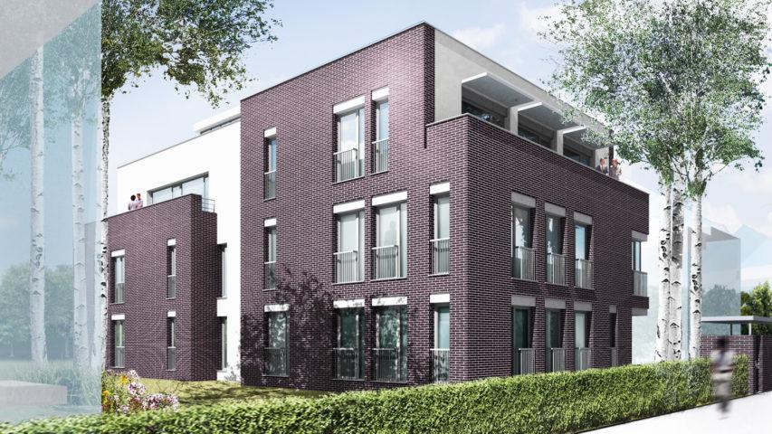Budynek apartamentowy, Warszawa Mokotów